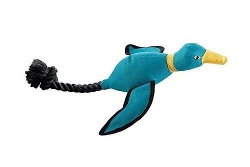 HUNTER TRAINING DUCK Hundespielzeug, Apportierespiele, Tau, 42 cm, blau