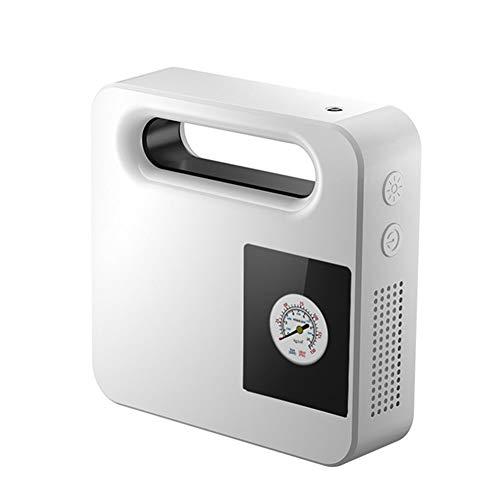 Hinchador Electrico Compresor Coche Inflador de neumáticos con manómetro Inflador Digital de neumáticos Herramienta de aire Inflador de neumáticos White Pointer,One Size