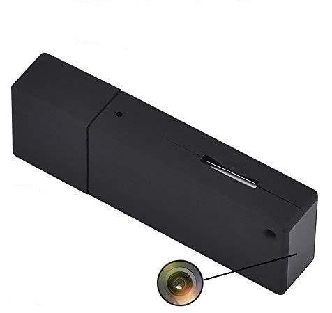 Llavero USB no portátil mini USB espía cámara de vídeo HD 1080P...