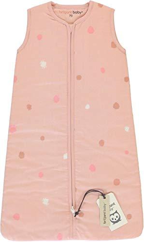 Briljant Rainbow 90 cm Winter saco de dormir para bebé Rosa