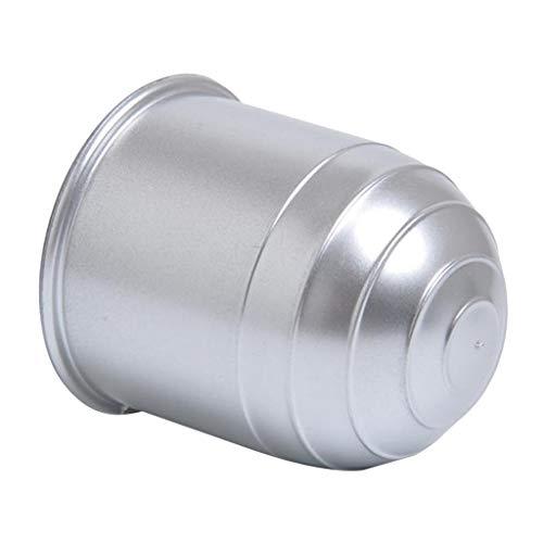 50mm Schutzkappe Anhängerkupplung KFZ Kugelkopf Kappe Abdeckung, Silber