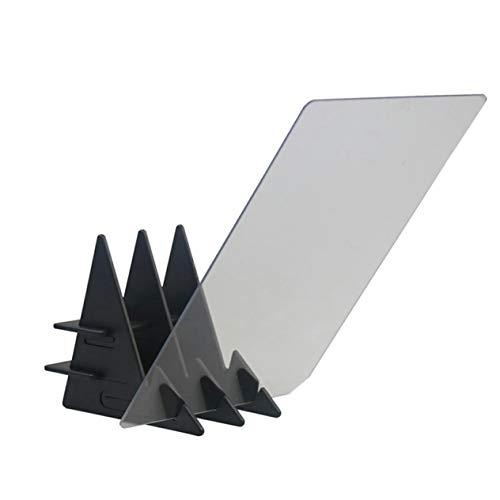 Asistente de dibujo fácil de pintar Soporte de pintura Herramientas de dibujo Proyector de dibujo óptico Tablero de trazado de pintura Tablero de dibujo (blanco transparente; 6.5 pulgadas) BCVBFGCXVB