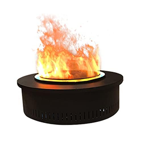 Home Elektrokamin Einbau Elektrokamin 3D Wasserdampf Simulation Flamme Elektronische Kamin mit Überhitzung Schutz LED Lichtquelle Elektrische Kaminheizung mit einstellbarer Flamme deko elektrokamin