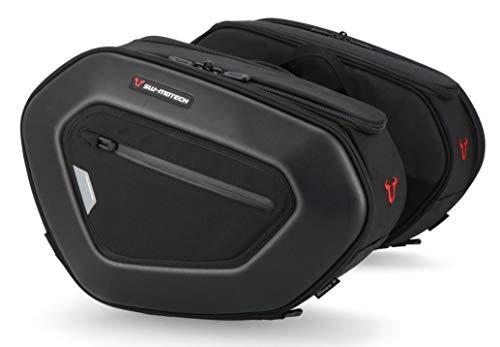 SW-Motech Pro Blaze - Set di 2 borse da sella per moto da 15-20 litri, per Ducati 848 Streetfighter a partire dall'anno di costruzione 2011