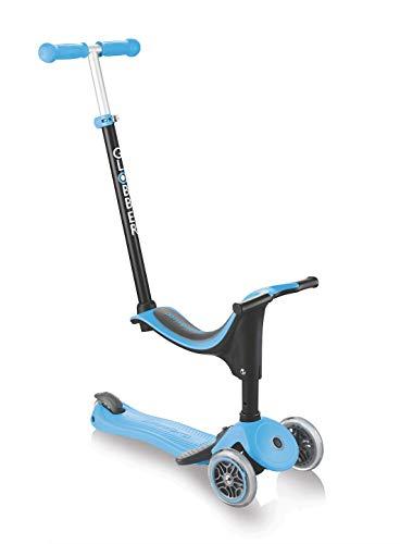 Globber TROTTINETTE MODELE GO UP Sporty Plus Sky Blue Patinete evolutivo, Azul Celeste, à Partir de 15 mois ✅