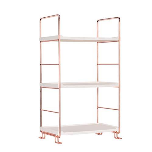 ERUYN Organizador de Especias Desmontable de Oro Rosa de 3 Niveles, Almacenamiento para Pendientes y Anillos Oro Rosa