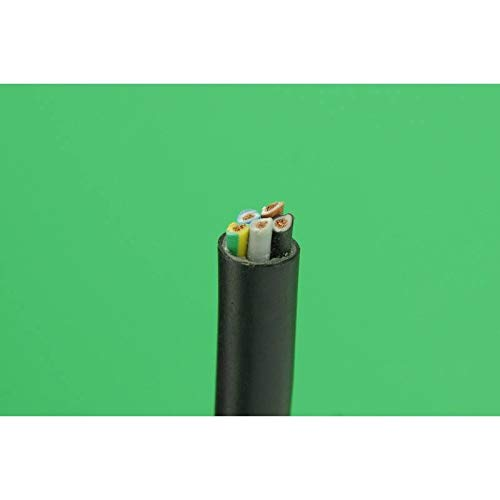 REPORSHOP - Manguera Electrica 5x1,5 mm Cable Alimentacion Electrico 1 metro Standard