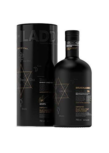 Bruichladdich BLACK ART 25 Years Old Unpeated Edition 07.1 1994 Whisky (1 x 0.7 l)