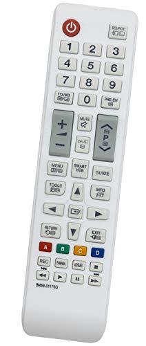 ALLIMITY BN59-01175Q Fernbedienung Ersetzen fit für Samsung FHD Smart TV UE48JU6580 UE55JU6515 UE32LS001FU UE32J4580 UE40H6410 UE48JU6515 UE32J4515 UE40H6410SS UE48JU6510UXZF UE40H6410SSXXC