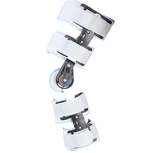 BDXZJ Rodilleras Ortopedicas Ligamentos, Soporte de Rodilla, Ortesis de Rodilla Regulable con Bisagras para ACL/PCL/Menisco/Ligamento/Lesiones Deportivas, Reduce El Dolor de Rodilla O Artrosis