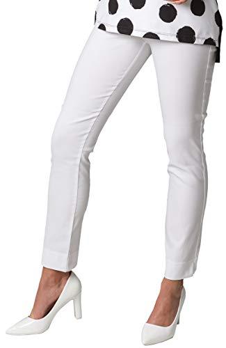 Stehmann Spodnie damskie, biały, 40 PL