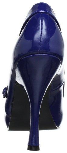 Pin Up Couture CUTIEPIE-02 Damen Pumps, Blau (Navy blue pat), EU 40 (UK 7) (US 10) - 3