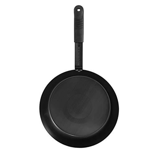 Muurikka PRO Carbonstahl-Pfanne, 30cm Ø, für Grill und offenes Feuer geeignet