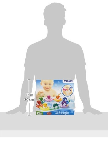 TOMY Toomies Do Re Mi Dolphins Baby Bath Toy | Educational and Musical Toy For Toddlers | Kids Bath Toys Suitable For Boys & Girls 1, 2 & 3 Years