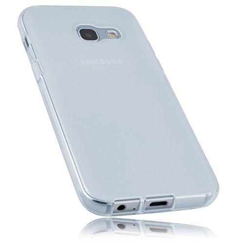 mumbi Hülle kompatibel mit Samsung Galaxy A3 2017 Handy Case Handyhülle, transparent Weiss