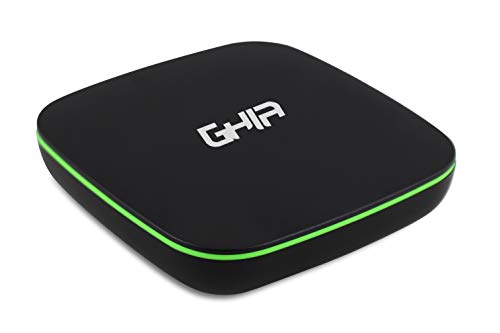 GHIA Convertidor Smart TV GAC-116 Negro Verde Quad Core/LAN/WiFi/HDMI