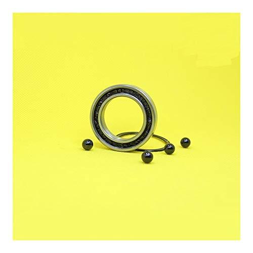 LUANAYUN-PHONE CASE Flexible Durable 1pc 6906 híbrido de rodamiento de cerámica 30x47x9mm ABEC-1 for Bicicletas Soportes Inferiores de recambios 6906RS Si3N4 rodamientos de Bolas cojinete de Bolas