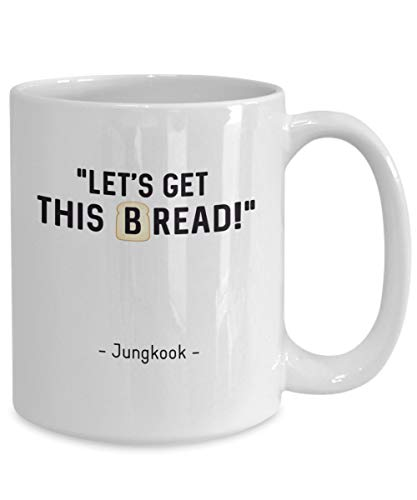 Funny BTS Coffee Mug Jungkook Meme Bangtan Boys Merchandise For BTS Lover BTS Merchandise For Girls Kim Namjoon Taehyung Hoseok Yoongi
