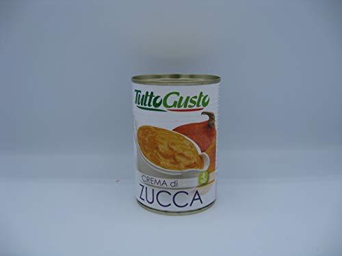 Crema di Zucca un barattolo da 400 g in Latta Tutto Gusto