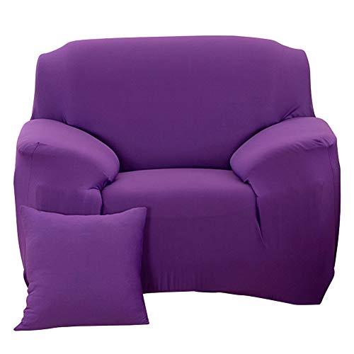 Okuyonic Funda de sofá Funda de sofá elástica para sofá Lavable(Single Seat 90-140cm)