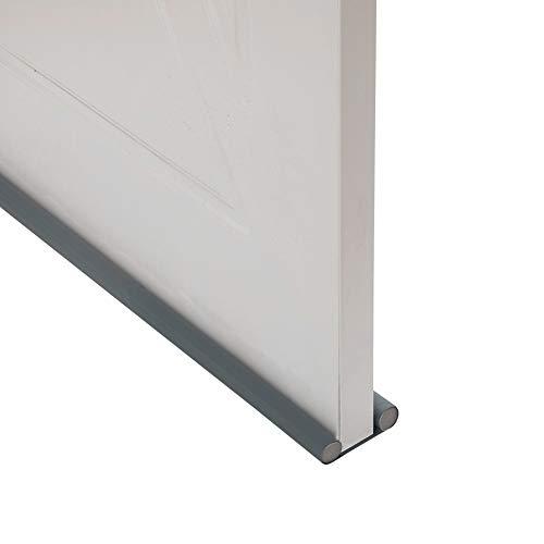 Foaynn 37  Door Draft Stopper Door Draft Blocker Noise Reduction Sound Proof Door Sweeps Weather Stripping Adjustable Under Door Seal
