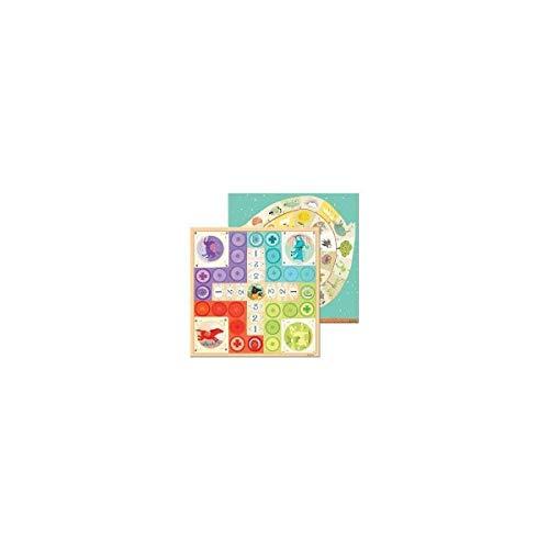 Djeco- Colección de Juegos de Mesa, Multicolor (DJ05226)