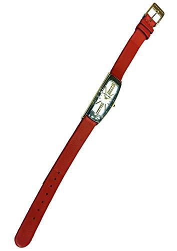 Reloj Pierre Cardin PC60142.132051 de Mujer Rectangular Bicolor con Correa de Piel