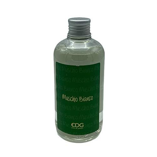 EDG Ricarica per profumatori a bastoncini da 250ml profumazione MUSCHIO BIANCO