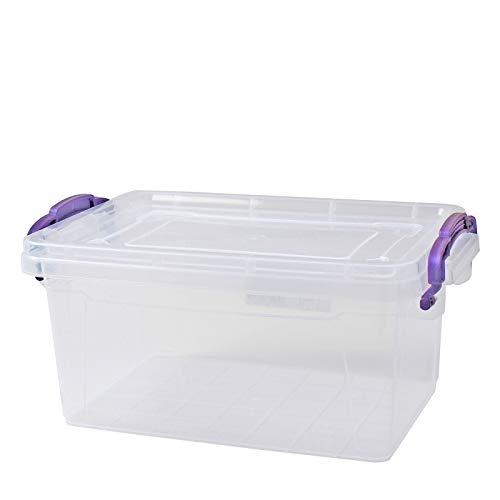 Aufbewahrungsbox 3 L Lagerbox Box mit Deckel, 11,5x 26x 17cm Stapelbox