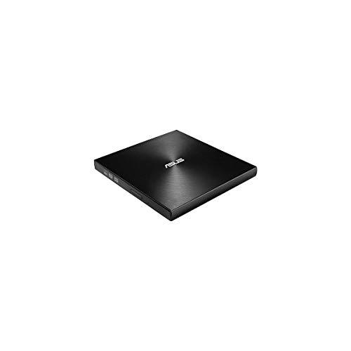Price comparison product image ASUS SDRW-08U7M USB External Ultra Slim DVD-RW Burner - Black