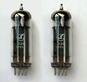 Jellyfish Audio EL84 - Par de válvulas a juego para amplificadores Marshall...