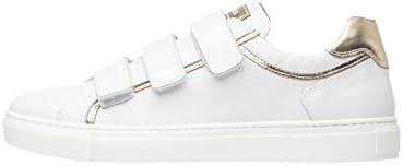 Nero Giardini P805261D Sneakers Femme en Cuir Et Toile