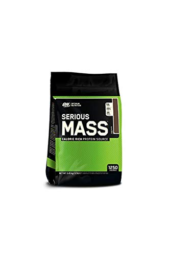 Optimum Nutrition - Serious Mass 5,45kg Beutel Schokolade