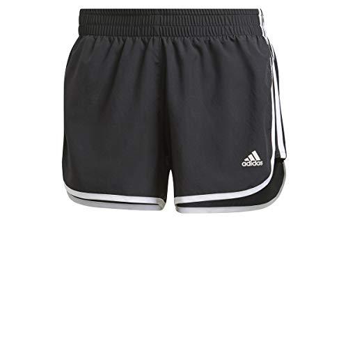 adidas M20 Short, Pantalones Cortos Mujer, Black/White, M 3'