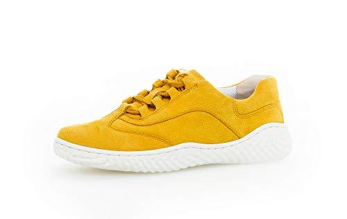 Gabor Damen Halbschuhe, Frauen Sneaker Low,lose Einlage,Best Fitting,straßenschuhe,Strassenschuhe,Lady,Mango,39 EU / 6 UK