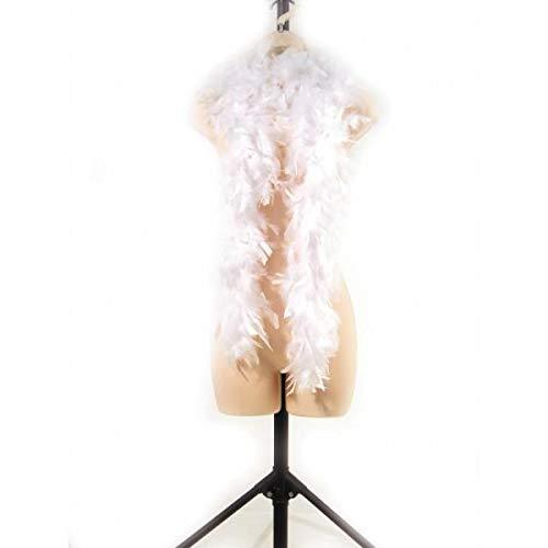 Party Pro 852500106 Boa 1.80 m Blanc 45 g, Mulit Couleur
