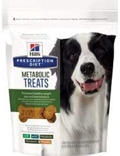HILL'S PRESCRIPTION DIET Metabolic Weight Management Dog Treats, 12 oz, 1 Pouch
