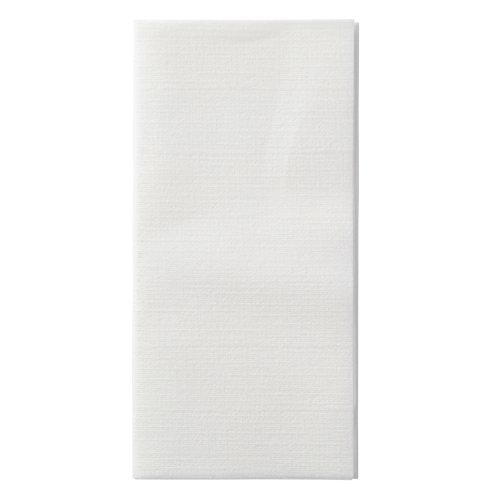 Hoffmaster 120072 LinenLike Select Dinner Napkin 17quot Length x 17quot Width White 1/8 Fold Case of 300