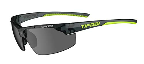 Tifosi Optics Track Sunglasses (Crystal Smoke, Smoke)