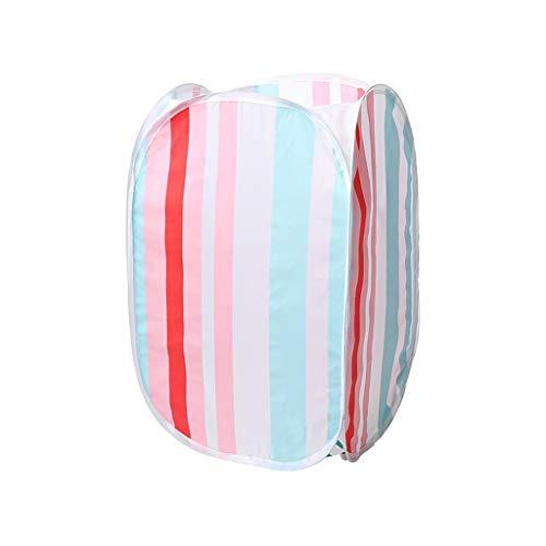 Panier de Rangement Matériau imperméable Tissu Pliable Art Ménage Simple à Quatre Faces Creuse Grande Capacité ZHJING