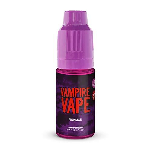 Vampire Vape E-Liquid 4x10ml - Pinkman - Probierset für E-Zigaretten und E-Shishas - 0mg (ohne Nikotin) - Made in UK