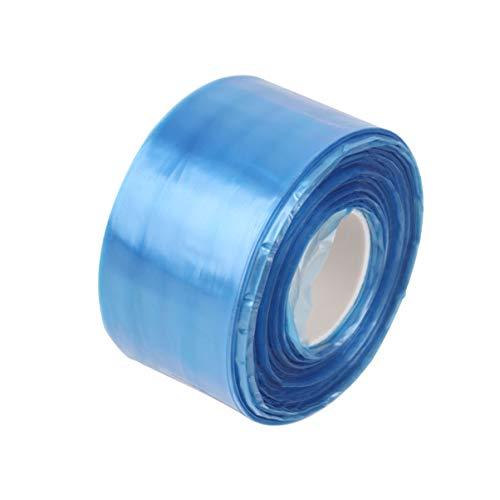 Exceart 400 Stück Einwegbrillenhüllen Brillenschutzhüllen Brillenschutz für Haarstyling Styling Farbe Blau