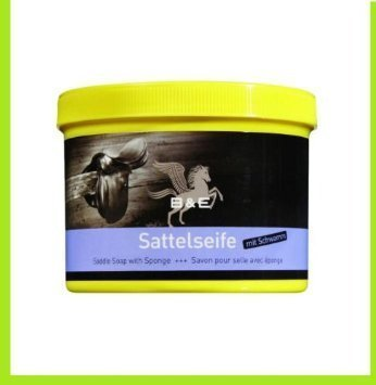 Bense & Eicke Sattelseife mit Schwamm - 500 ml incl Gratis 1 Minidose Lederbalsam 50 ml