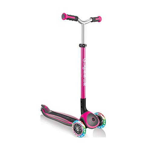 Authentic Sports Globber Master Lights - Farbe: Pink