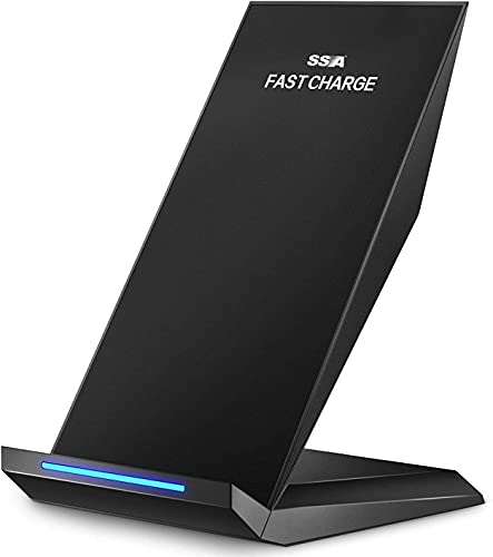 Fast Wireless Charger, Qi-Certified Wireless Charging...
