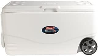 Coleman 100-Qt. Xtreme 5-Wheeled Cooler - White