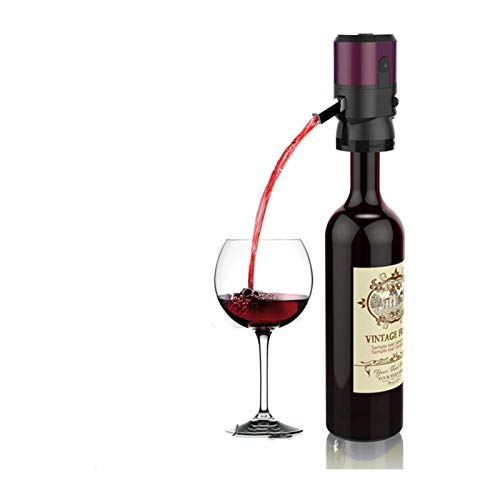 Decanter per vino in vetro fatto a mano, Aeratore di vino elettrico, pompa del distributore di vino, pourere automatico del vino, decantatore di vino istantaneo, ossidante di vino one-touch con tubo r