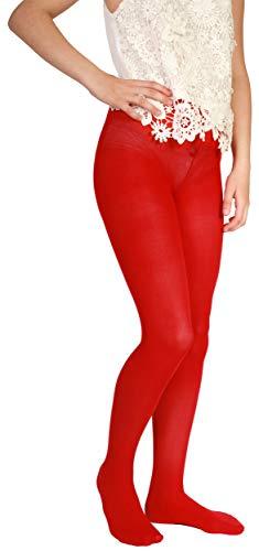 Giulia Betty 80 Rot (Scarlet) 116-122 rote strumpfhose