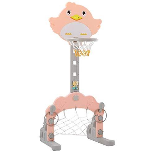 HAOYANG cosas buenas- SportsPortsPortsPortsKasketball Stand Tiberkids - Ajustable 102-162 cm, tablero de la red de aro con el juego de fútbol Juego 3 en 1 Forindoor y al aire libreGarden Girls Boys Gi