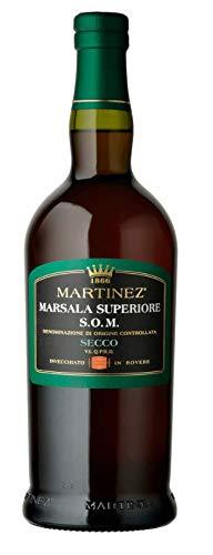 SICILIA BEDDA - VINO LIQUOROSO MARSALA SUPERIORE D.O.C. SECCO/DRY - MARTINEZ - CL.75 18°